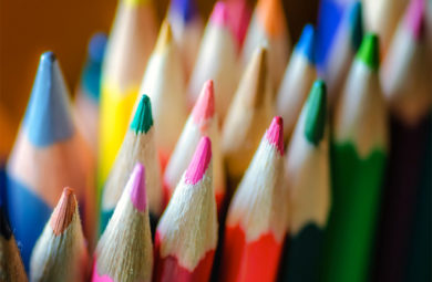 photo crayon de couleur