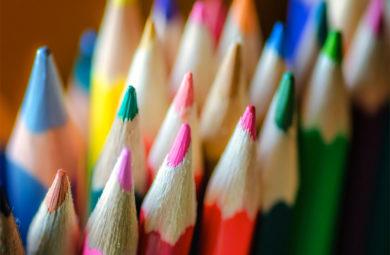 photo crayon de couleur
