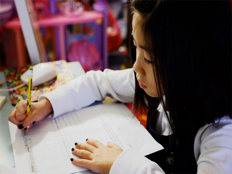 Le temps de devoirs quotidien