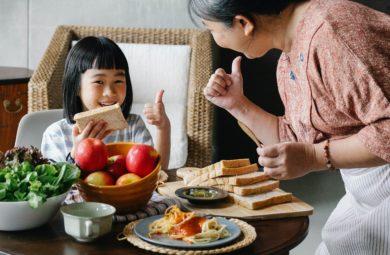 alimentation saine et apprentssages